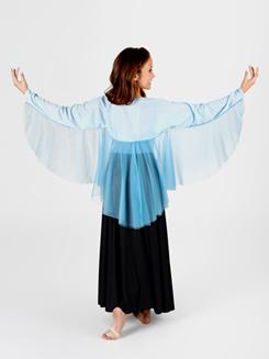 Girls Worship Angel Wing Shrug