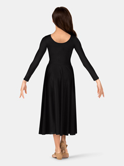 Girls Worship Long Sleeve Dance Dress