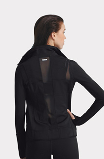 Adult Dance Active Fitted Jacket with Thumb Holes