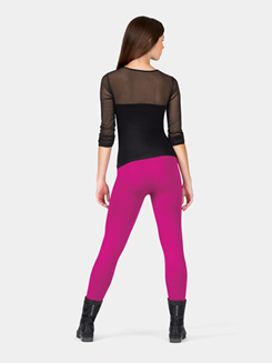 Adult Seamless Long Sleeve Mesh Top