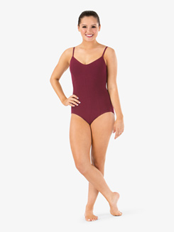 Adult Trestle Back Camisole Dance Leotard 