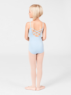 Girls Trestle Back Camisole Dance Leotard