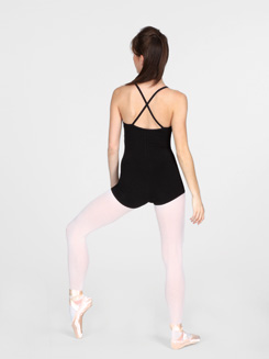 Shorty Unitard with Criss-cross Straps 