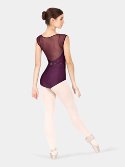 Cap Sleeve Natalie Wood Leotard with Belt