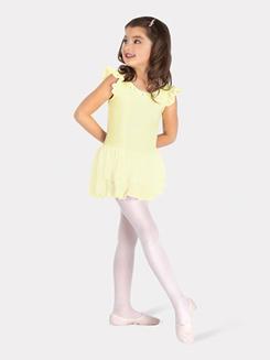 Girls Flutter Sleeve Ballet Dress