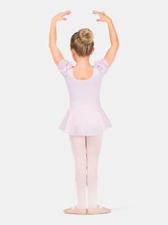 Girls Puff Sleeve Dress