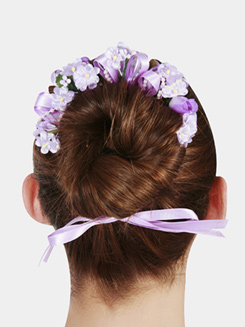 Floral Bun Wreath