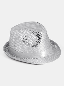 Sequin Fedora Hats 1 Dozen