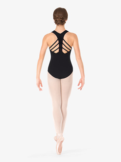 Adult Fancy Strappy Back Tank Leotard