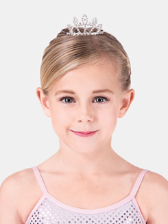 Rhinestone Mini Tiara 