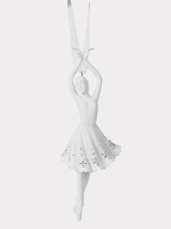 Porcelain Ballerina Ornaments