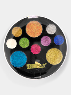 10 Color Glitter Eye Shadow Kit