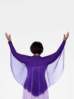 Adult Plus Size Angel Wing Shrug 