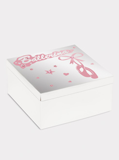 Mirrored Ballerina Trinket Box