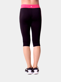 Teen Mesh Capri Leggings