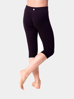 Teen Cotton Capri Leggings