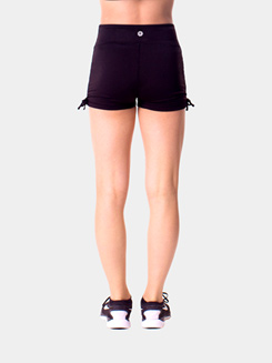 Teen Solid Side Cinch Dance Shorts