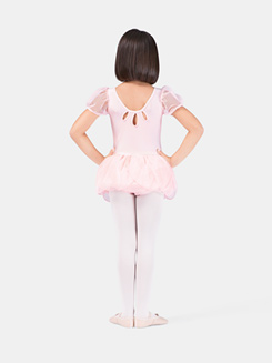 Girls Puff Sleeve Tutu Dress