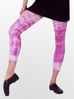 Adult Tie-Dye Capri Dance Tight