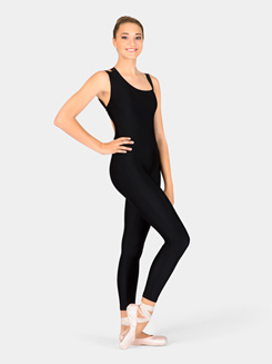 Adult Unitard with Elastic Back