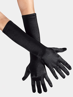 Adult Satin Elbow-Length Gloves