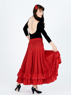 Adult Flamenco Skirt 
