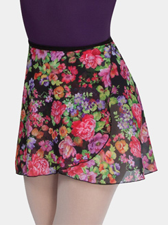 Adult Printed Wrap Skirt