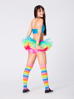 Neon Rainbow Tutu 