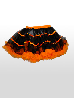 Two-Tone Tutu With Ribbon Trim