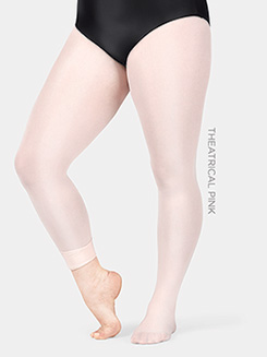 Plus Size Adult totalSTRETCH Footed Tight