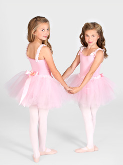 Tutu With Ruffled Waist 