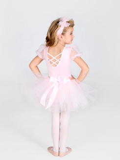 Tutu With Satin Waistband 