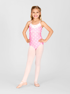 Child Polka Dot Camisole Leotard 