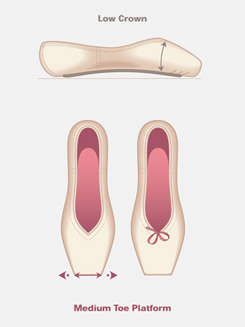 Adult Almaz Pointe Shoe (Diamond)