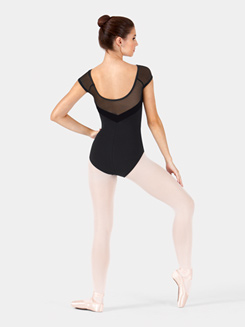 Adult Velvet Cap Sleeve Leotard