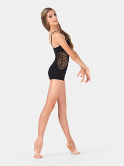 Lace Cutout Shorty Unitard