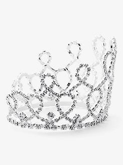 Rhinestone Bun Crown