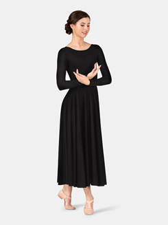 Worship Long Sleeve Dance Dress