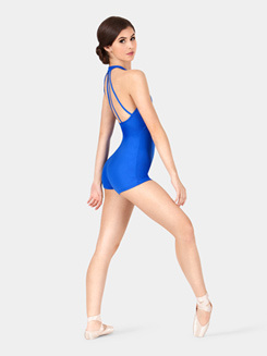 Adult Halter Shorty Unitard