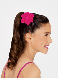 Satin Flower Clip