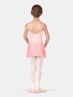 Child Basic Star Mesh Skirt