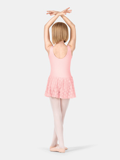 Child Scoop Front Tank Lace Dress