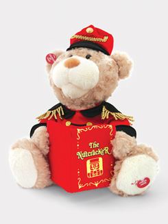 Talking Nutcracker Stuffed Bear