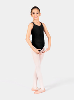 Girls Camisole Double Strap Leotard
