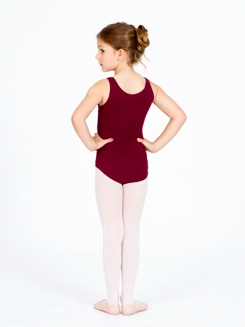 Girls High Neck Tank Dance Leotard 