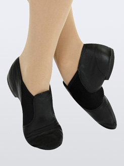 Triple Stretch Adult Slip-On Jazz Boot