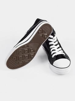 Girls Hi-Top Sequin Sneaker