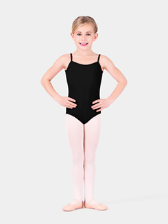 Girls Thin Strap Camisole Dance Leotard