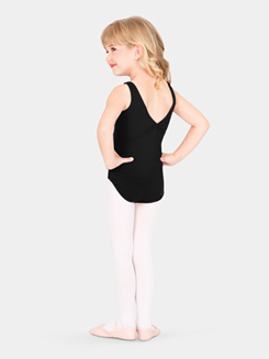 Girls Gathered Tank Dance Leotard