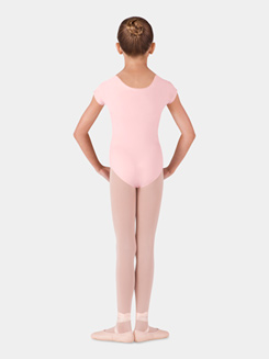 Girls Essential Short Sleeve Leotard